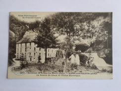 Environs De Salins-les-Bains  Nans-sous-Ste-Anne La Source Du Lison Et L'usine Electrique - France
