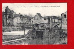 1 Cpa -47- NERAC La Baise L'écluse Le Vieux Pont De Sully - Nerac