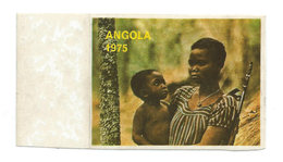 Help Civilians In The War, Angola 1975.Yugoslavian LABEL - Macedonia