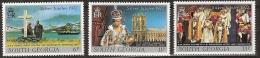 South Georgia 1977  Silver Jubilee Coronation Queen Elisabeth - Complete - MNH**, Postfrisch Ohne Falz , Neuf Sans Charn - Géorgie Du Sud