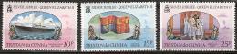 Tristan Da Cunha 1977  Silver Jubilee Coronation Queen Elisabeth - Complete - MNH**, Postfrisch Ohne Falz , Neuf Sans Ch - Tristan Da Cunha