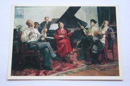 """""""New Song"""" By Adamova - Uzbek Folk Musical Instrument - Uzbekistan - Old Postcard 1977 - Uzbekistan"""
