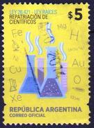 ARGENTINA 2014 1 V   Used  LEY RAICES - REPATRIACION DE CIENTIFICOS Chemistry & Chemists - Chemistry