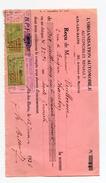 FRANCE- Document Avec 2 Timbres Quittances Y&T N°23- Oblitéré