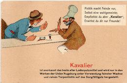KAVALIER - Auf Grund Der Derzeitigen Produktion Können Mit (71 ASO) - Publicité