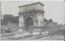 LAZIO - ROMA - ARCO DI TITO -  B/N . FOTO MENASCI -  NUOVA NV - Chiese