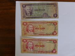 3 BILLETS  JAMAIQUE - Jamaica