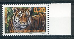LUXEMBOURG   LUXEMBURG   2013   Yvert 1923   FELINS   Tigre   Tiger
