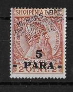 ALBANIE - YVERT N° 42A * (COTE MICHEL = 100 EURO) - Albanie