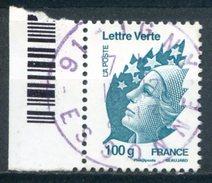 FRANCE   2011   Yvert 4595   Marianne De Beaujard   Marianne Et L'Europe   Oblit / Used