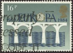 GB Yv. N°1126 - Europa - 16p Pont De La Coopération Européenne - Oblitéré - Gebraucht