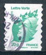 FRANCE   2011   Yvert Adhésif 604   Marianne De Beaujard   Marianne Et L'Europe   Oblit / Used