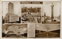 MERSEY  TUNNEL    VIEWS    (VIAGGIATA) - Liverpool
