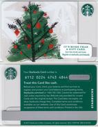 Starbucks - USA - 2015 - CN 6112 SB80 Christmas Tree 2015 - Gift Cards