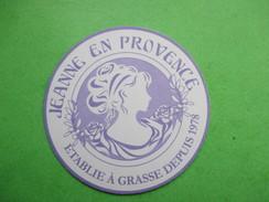 JEANNE EN PROVENCE -  Carte Parfumée - Perfume Cards