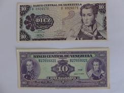2 BILLETS VENEZUELA - Venezuela
