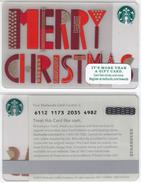 Starbucks - USA - 2015 - CN 6112 SB47 Merry Christmas - Gift Cards