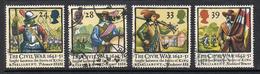 GRANDE BRETAGNE N°1624 à 1627  Série Complète  Bataille D'Edgehill - Used Stamps