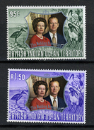 1968 - TERRITORIO BRITANNICO DELL'OCEANO INDIANOO - Catg.. Mi. 48/49 -  LH - (I-SRA3207.11) - Territorio Britannico Dell'Oceano Indiano