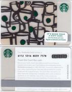 Starbucks - USA - 2015 - CN 6112 SB83 Little Mugs - Gift Cards