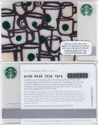 Starbucks - UK - 2015 - CN 6120 SB84 Little Mugs - Gift Cards