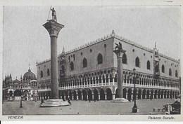 VENETO - VENEZIA - PALAZZO DUCALE  - CARTOLINA D'EPOCA  B/N - EDIZ. CAPELLO - Venezia