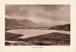 PUY DE DOME, LE LAC DE GUERY, Planche Densité = 200g, Format 20 X 29 Cm, (Reussner) - Géographie