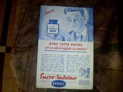 Vieux Papier Publicite Encre Antoine Stylex - Buvards, Protège-cahiers Illustrés