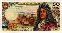 FRANCE 50 FRANCS RACINE Du 5-9-1974  Pick 148e?  F64/27  XF/SUP+ - 1962-1997 ''Francs''
