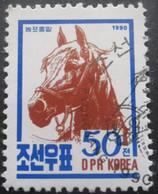 Corée Du Nord N°2157 CHEVAL COREEN Oblitéré - Horses
