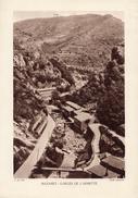 TARN, MAZAMET: GORGES DE L'ARNETTE, Planche Densité = 200g, Format 20 X 29 Cm, (Labouche) - Géographie