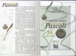 ITALIE - 2 EURO 2012 - G.PASCOLI - BRILLANT UNIVERSEL - Italia