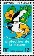 FRENCH POLYNESIA 1974 Conservation Bird Fish Birds Fishes Animals Fauna MNH - Polynésie Française