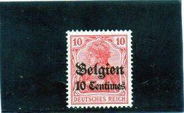 B - Germania 1914 - Occupazione Del Belgio (nuovo Linguellato) - Occupazione 1914 – 18