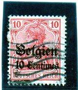 B - Germania 1914 - Occupazione Del Belgio - Occupazione 1914 – 18