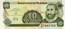NICARAGUA 10 CENTAVOS ND (1990) P-169 UNC PREFIX A/E [NI463b] - Nicaragua