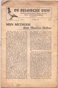 Krant Magazine - De Belgische Duif - Mijn Methode Maurice Delbar - 1946 - Foto C. De Kegel Ninove - Practical