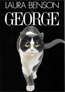 FESTIVAL AVIGNON 2003 GEORGE DE LAURA BENSON CHAT NOIR ET BLANC SUPERBE  EDIT. CART'COM - Theater