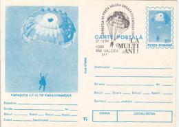 55699- PARACOMANDER UT 15 PARAGLIDER, PARACHUTTING, POSTCARD STATIONERY, 1994, ROMANIA