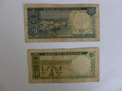 2 BILLETS TANZANIE - Tanzanie