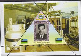 PHYSICIST  Lev Landau    TRIANGULAR STAMP  1 Sheet LIMITED EDITION  CINDERELLA