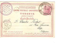 Austria-Österreich Constantinopel/Constantionople 1898 To Liège/Lüttich PR4004 - Levant Autrichien