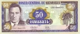 * NICARAGUA 50 CORDOBAS 1995 P-183 UNC [NI482a] - Nicaragua