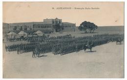 CPA - ALEXANDRIE (Egypte) - Mustapha Pacha Barracks - Alexandria