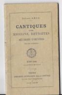 Recueil CANTIQUES 1910 - Religion