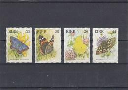 Irlande - Neufs** - Année 1985 - Papillons Divers - YT 562/565 - 1949-... República Irlandése