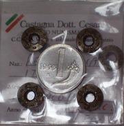 ITALIA - 1 Lira 1993 MONETA RARA E PERIZIATA FDC - UNC - 1946-… : Repubblica