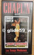 Chaplin Eternel - K7 Vidéo N° 1 - Les Temps Modernes - Collection Marshall Cavendish 1998 - Collections & Sets