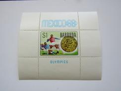 JO208   Barbuda  SS Soccer   MNH
