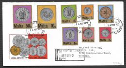 Malta 1972 Definitives Official FDC - Malta